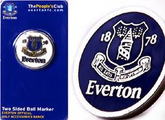 #Everton fc golf ball #marker - club logo - official #merchandise,  View more on the LINK: http://www.zeppy.io/product/gb/2/351023814064/