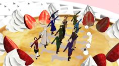 【MMD Happy Synthesizer Featuring Hetalia Characters