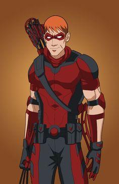 Red Arrow (Roy Harper) by DannyK999