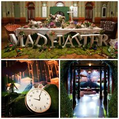 Mad Hatter Party - Mad Hatter party decoration ideas