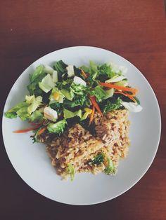 #tuna #rice #salad #food #foodart #delicious #colorful Tuna Rice, Rice Salad, Food Art, Risotto, Grains, Colorful, Ethnic Recipes, Seeds, Korn