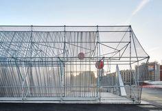 Peris + Toral > Punto de Información en Glorias | HIC Arquitectura