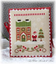 Santa's House flatfold