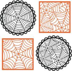 Spiderweb Overlays SVG cutting files halloween svg cutting files free svg cuts cute svgs