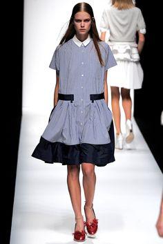 Sacai Spring 2013 Ready-to-Wear Fashion Show - Stina Rapp Wastenson (WOMEN)