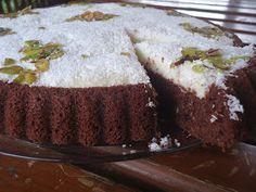 Birsel ve İrem: Damat Pastası (Tart Kalıbında Kakaolu- Kremalı Kek)
