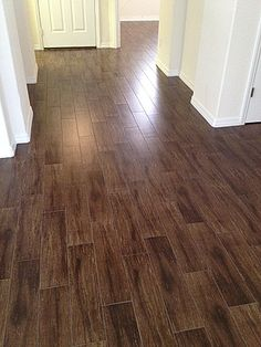 Walnut Porcelain Plank Tile No