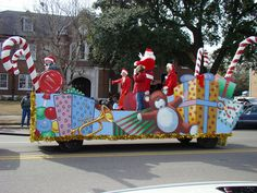christmas parade floats delta christmas parade float flickr photo sharing