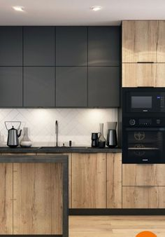 6 Sensational Tips: Desain Rumah Minimalist Home Tips cozy minimalist home white walls. Kitchen Room Design, Modern Kitchen Design, Interior Design Kitchen, Living Room Modern, Rugs In Living Room, Living Spaces, Kitchen Cabinet Handles, Kitchen Cabinets, Kitchen Shelves