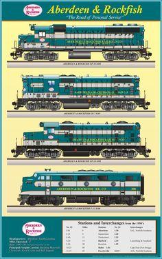 Aberdeen & Rockfish Railroad