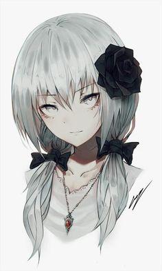 Pixiv Id 20944721 Image - Zerochan Anime Image Board Cool Anime Girl, Kawaii Anime Girl, Anime Art Girl, Anime Girls, Manga Girl, Anime Style, Character Inspiration, Character Art, Wie Zeichnet Man Manga