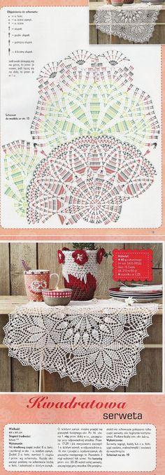 — an album \'Knitting by a Hook Fillet Knitting, Napkins \/ Fillet Knitting, Salfetki\/Anna Robotki\/Anna Robotki No. Crochet Curtains, Crochet Tablecloth, Crochet Doilies, Crochet Lace, Doily Patterns, Knitting Patterns, Crochet Patterns, Crochet Chart, Filet Crochet