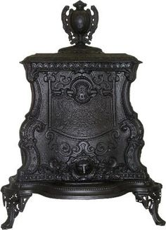 All Antique Stoves for Heating for sale : Gem Wood/Coal Antique Parlor Stove Victorian Furniture, Victorian Decor, Victorian Gothic, Victorian Homes, Antique Furniture, Victorian Parlor, Funky Furniture, Furniture Stores, Wooden Furniture