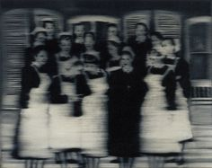 "Gerhard Richter- 1965  ""I blur things to make everything equally important and equally unimportant. I blur things so that they do not look artistic or craftsmanlike but technological, smooth and perfect. I blur things to make all the parts a closer fit. Perhaps I also blur out the excess of unimportant information."""