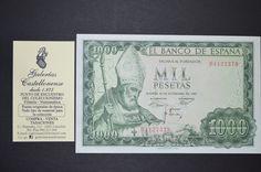 . Billete estado espa�ol, valor 1000 pesetas, emisi�n 19 de noviembre a�o 1965. con serie (B), plancha. recreando a San Isidro. disponemos de ejemplares de mas o menos calidades. cualquier duda consultanos.