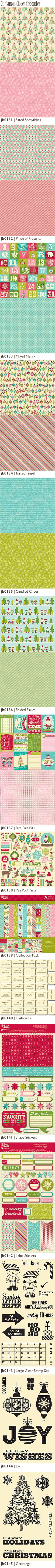 Brand New Jillibean Soup/Christmas Cheer Chowder; Summer CHA 2013 new release!