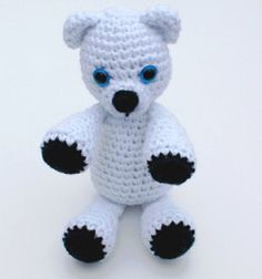 Crochet Pattern of the Day: Klondike the Snow Bear