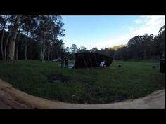 30ft Tarp going up (Stop Motion) #camping #hiking #outdoors #tent #outdoor #caravan #campsite #travel #fishing #survival #marmot https://youtu.be/pw4YqDg1EGU