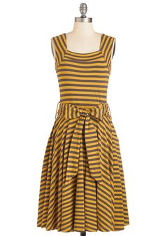 Guest of Honor Dress in Honey Tea, #ModCloth