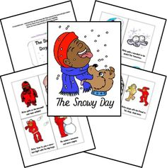 Snowy Day lapbook
