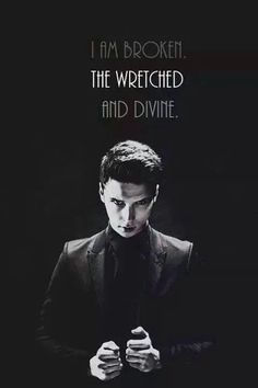 Wretched and divine