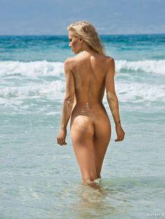 Odette Lafayette nude swim