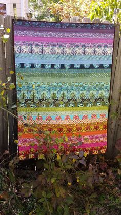 Tula Pink's Birds and Bees Baby Blanket/Quilt/Lap by cribcreation