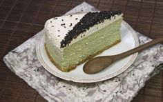 cheesecake thé vert