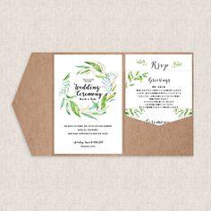 EYMでは結婚式の招待状を販売しています♡ ポケットフォルダー招待状セット【Leaf】はシンプルながらもナチュラルなおしゃれさを感じるデザイン。同シリーズのプロフィールブックなどと合わせてご使用いただくと統一感が出で洗練された印象に♡ こちらの招待状セットは結婚式のペーパーアイテム販売サイトEYMにて販売中です。 Vintage Flowers, Wedding, Valentines Day Weddings, Weddings, Marriage, Retro Flowers, Vintage Floral, Chartreuse Wedding