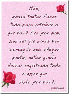 www.Glimbo.com | Modelos de Cartões Para O Dia Das Mães - Amor.