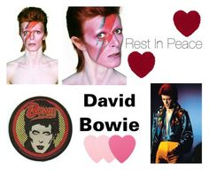 """""""David Bowie"""" by jeneric2015 ❤ liked on Polyvore featuring art"""