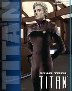 Commander Vale U.S.S. Titan by stourangeau.deviantart.com on @deviantART