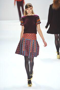 New York Fashion Week Fall 2012 - Nanette Lepore #nyfw