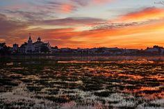 Atardecer (Sunset). Parque Nacional de Doñana (Doñana National Park), Huelva, Andalucía, Spain.