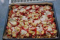 Nudelpizza, ein raffiniertes Rezept aus der Kategorie Pasta & Nudel. Bewertungen: 20. Durchschnitt: Ø 4,0.