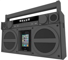 iHome iPhone portable boombox