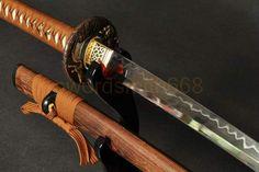 Overall Length: 40.9 inch / 104 cmNagasa Length: 27.8 inch /70.5 cmHandle Length: 10.6 inch/ 27cmBlade Material:1095 Steel clay temperedTsuba Material: High quality Brass TsubaBlade Width (near Habaki): 1.26 inch / 3.2cmBlade Width (near Ki... Katana Swords, Samurai Swords, 1095 Steel, Japanese Sword, Zen Meditation, Dojo, Sword Art, Martial Arts, Blade