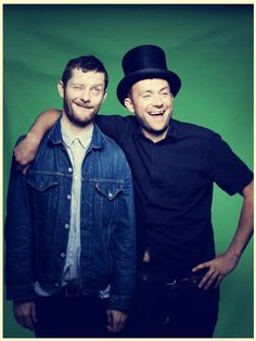 Jamie Hewlett & Damon Albarn - Two of my greatest idols!!! :D They don't know how much they inspire me to do great things in the craziest ways!!!!! <33