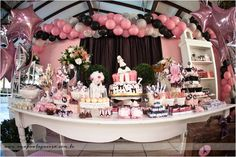 Poodle In Paris Birthday Party - Kara's Party Ideas - The Place for All Things Party