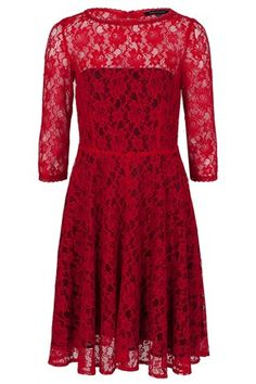 FAST IRIS LACE DRESS - Dresses - French Connection Usa $198
