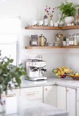 Farmhouse Open Shelves Kitchen Decor Ideas (10)