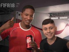 """Interessant welche Werbemöglichkeit Coca-Cola da bei """"Fifa 18"""" ergriffen hat. (Artikel ist auf englisch)"""