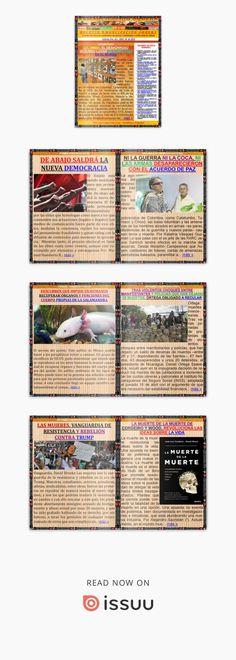 Boletin emancipación obrera n° 621 abril 28 de 2018  Medio Alternativo Independiente de Noticias, Análisis, Opinión, Ciencia y Cultura Popular. Guillermo Molina Miranda. Libros Gratis.