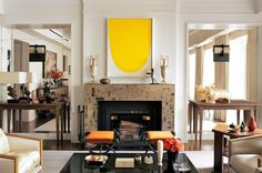 Fashion superstar Marc Jacobs's New York townhouse is a tour de force of old-school glamour and serious connoisseurship. (But Neville, his beloved bull terrier, has full run of the place!)
