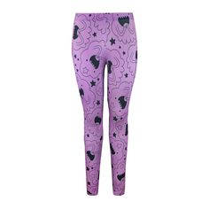 Oh My Glob! Lumpy Space Princess leggings.   22 Leggings For Every Fandom To Keep You Warm This Winter