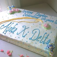 110th anniversary for the Gamma Chapter of Alpha Xi Delta <3