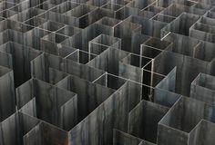 Gijs Van Vaerenbergh Install a Labyrinth of Boolean Voids in Genk