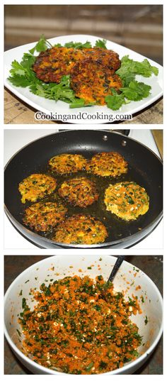 These delicious vegetarian Carrot Fritters can be served as a vegetarian starter. Vegetable Dishes, Vegetable Recipes, Vegetarian Recipes, Healthy Recipes, Baby Food Recipes, Great Recipes, Whole Food Recipes, Cooking Recipes, Healthy Snacks
