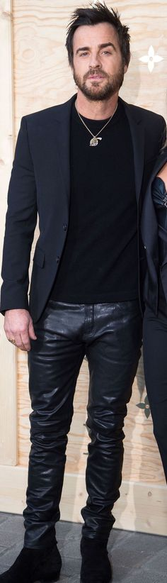 guys in leather pants.