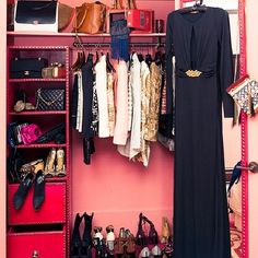 I want to work at thecoveteur. The beautiful closets they get to see. OMG